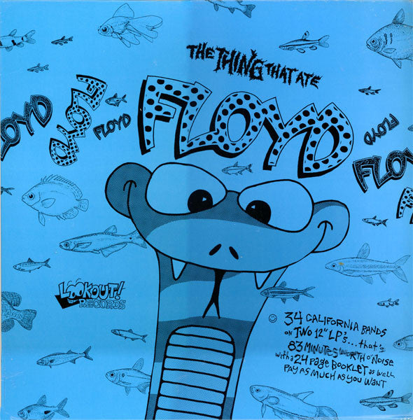 Various Artists ‎– The Thing That Ate Floyd - LP - Used