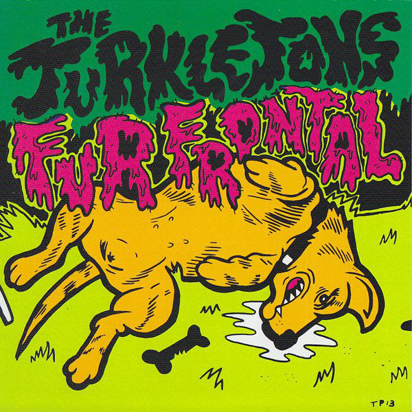 The Turkletons ‎– Fur Frontal – Used 7""