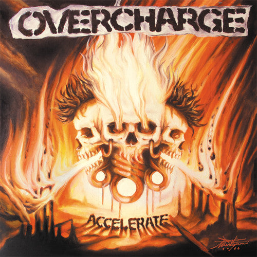Overcharge – Accelerate - LP - Used
