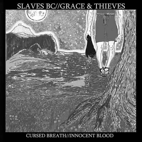 Slaves BC // Grace & Thieves ‎– Cursed Breath // Innocent Blood - New LP