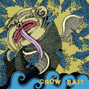 Crow Bait ‎– Separate Stations [PURPLE VINYL] - Used 7""
