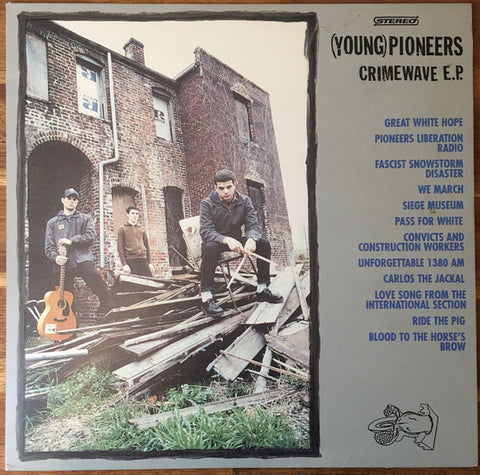 (Young) Pioneers – Crimewave E.P. – Used 10""