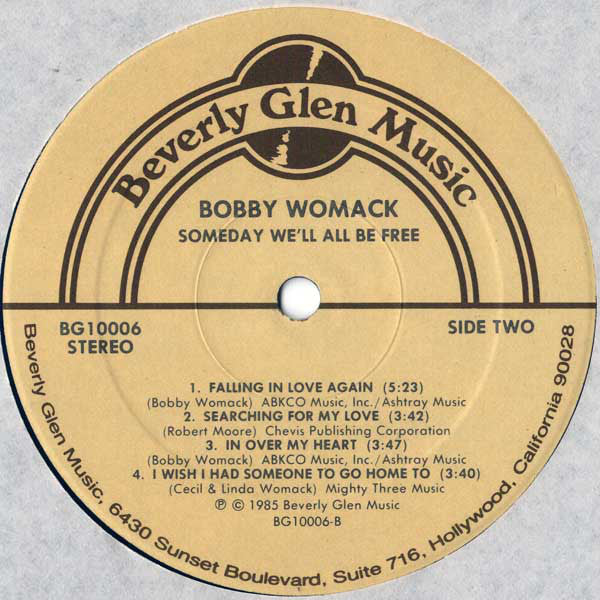 Womack, Bobby - Someday We'll Be Free - Used LP