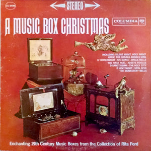 Rita Ford's Music Boxes – A Music Box Christmas  – Used LP