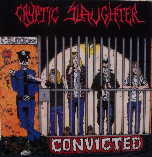 Cryptic Slaughter ‎– Convicted - LP - Used