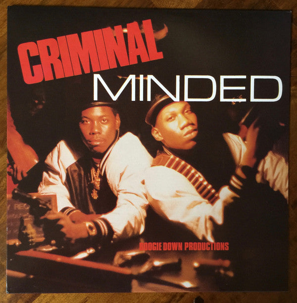 Boogie Down Productions – Criminal Minded – New LP