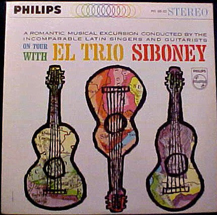 Trio Siboney, El ‎– On Tour With El Trio Siboney - Used LP