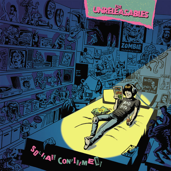 Unreleasables, The - Solitary Confinement - New LP