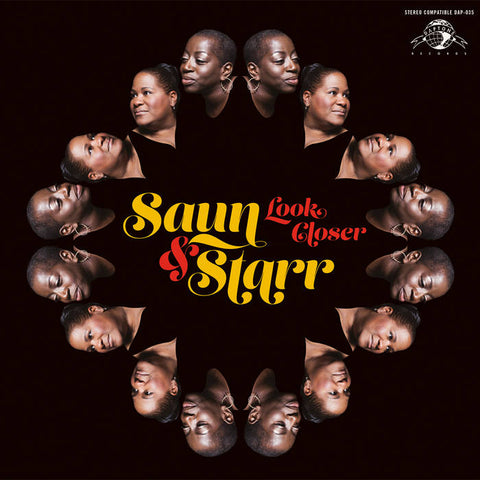Saun & Starr - Look Closer - New LP