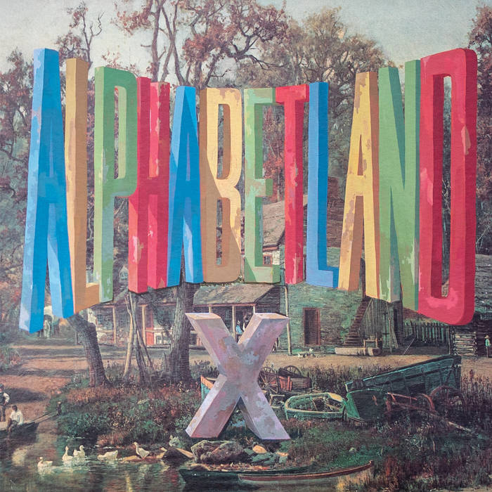 X - Alphabetland [BLUE VINYL] - New LP