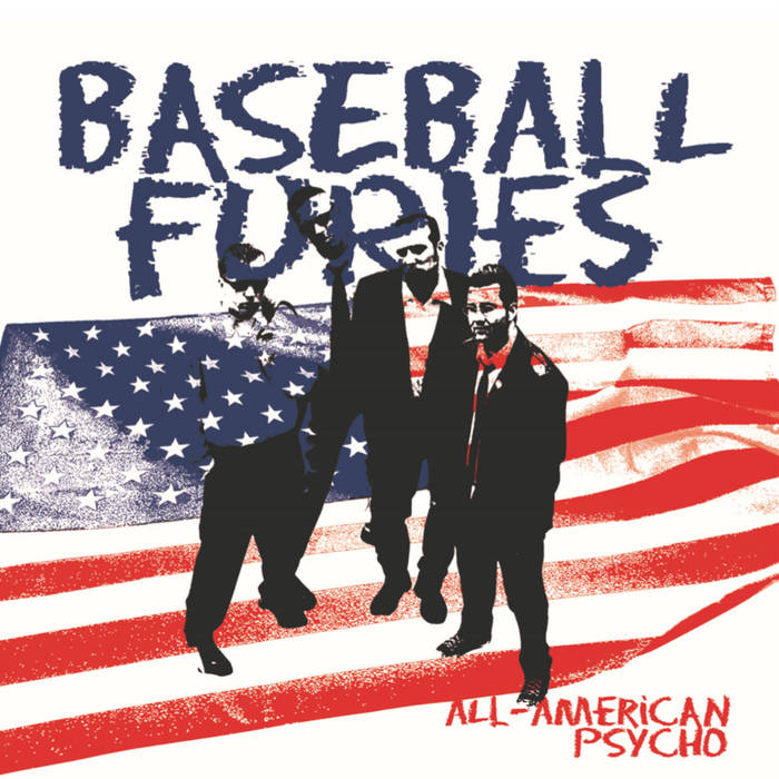 Baseball Furies – All-American Psycho [WHITE VINYL] – New LP