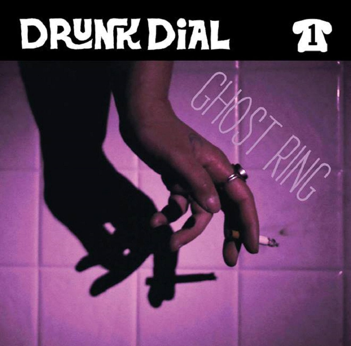 Drunk Dial #1 - Ghost Ring (color vinyl) - New 7""