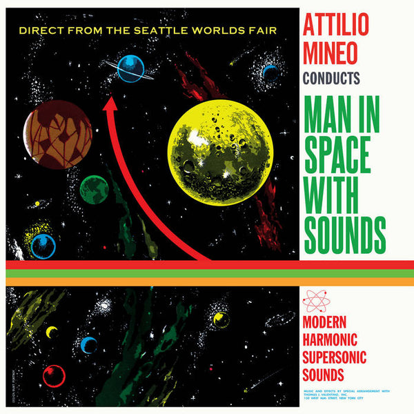 Mineo, Attilio – Man in Space with Sounds – New LP