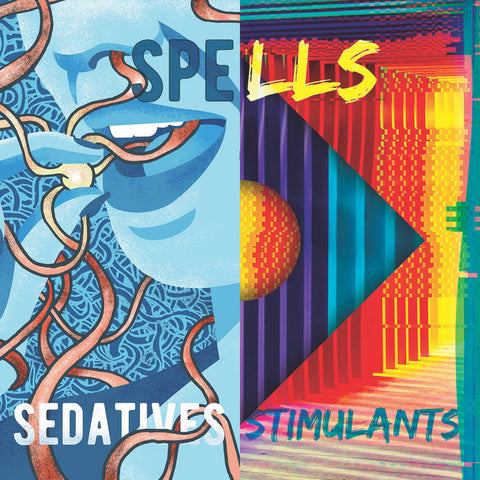 Spells – Stimulants & Sedatives (maroon vinyl) – New LP