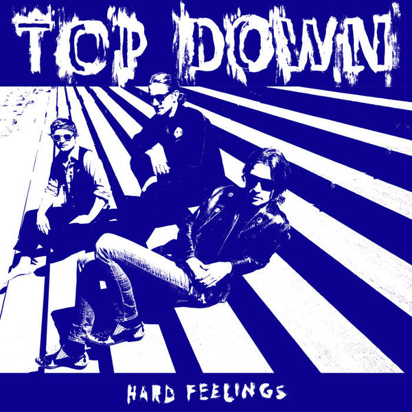 TOP DOWN – Hard Feelings [RED VINYL; IMPORT] – New LP