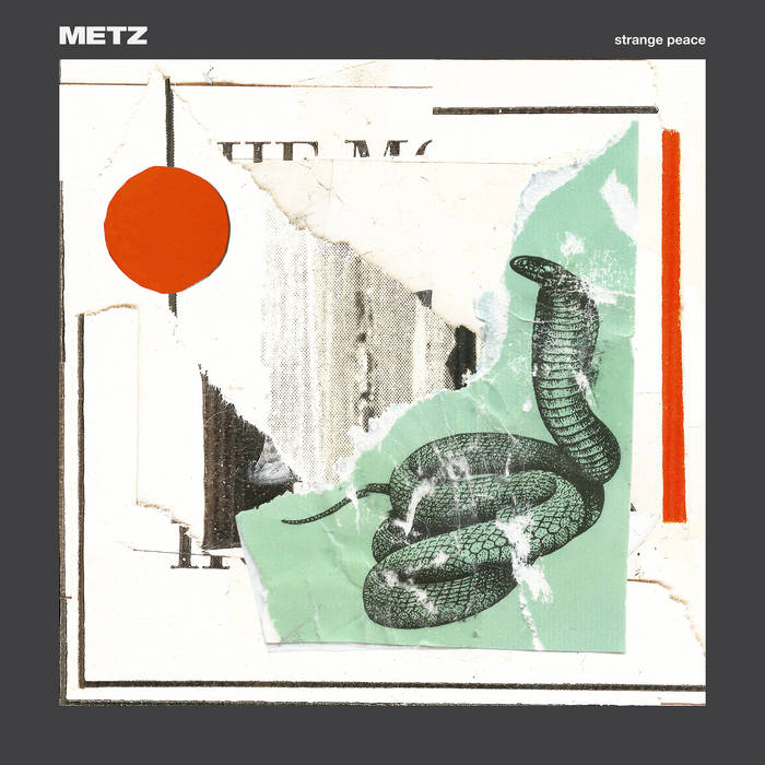 Metz - Strange Peace [Plus Free Edition] – New LP