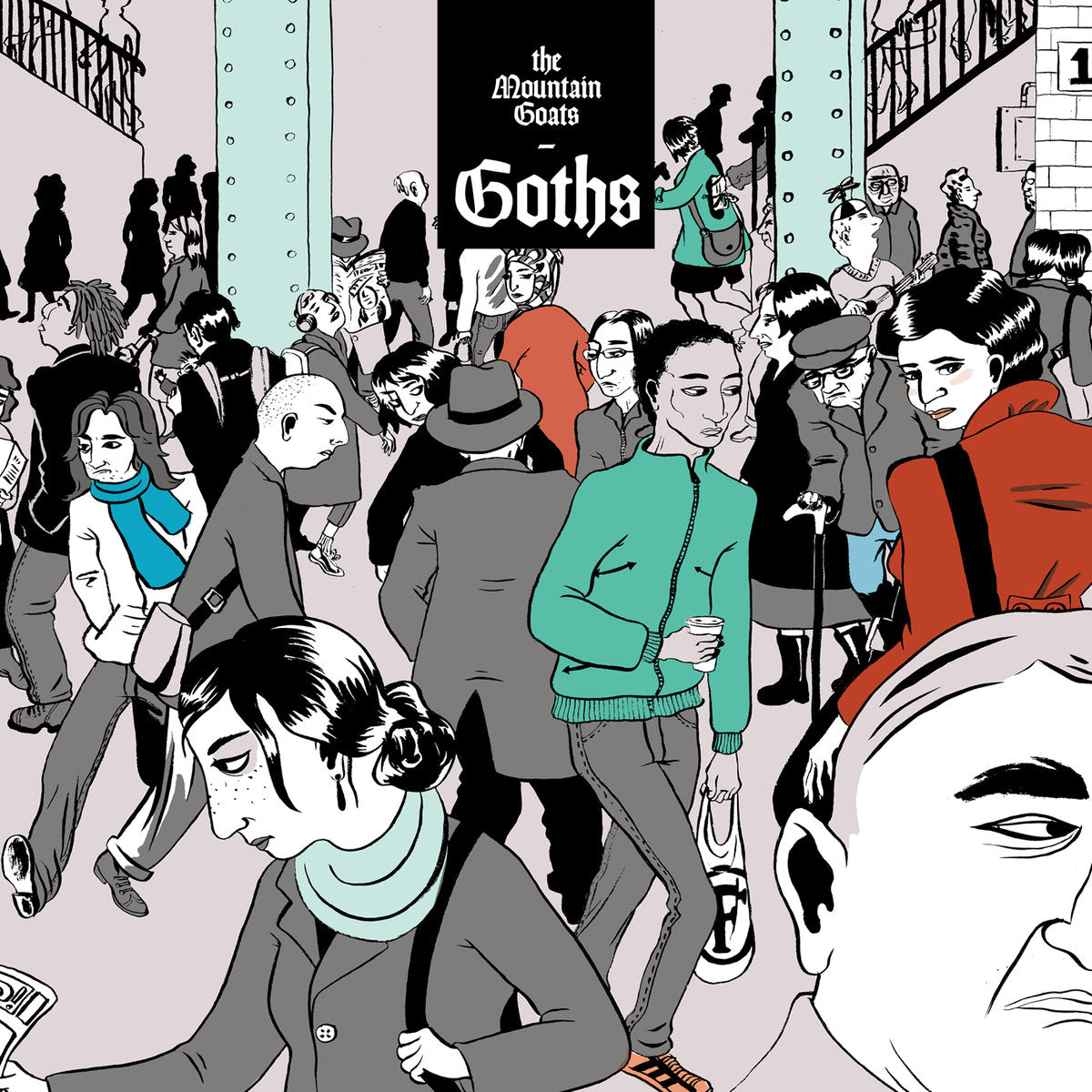 Mountain Goats, The - Goths -  LP