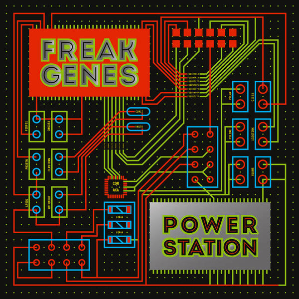 Freak Genes - Power Station [COLOR VINYL] – New LP
