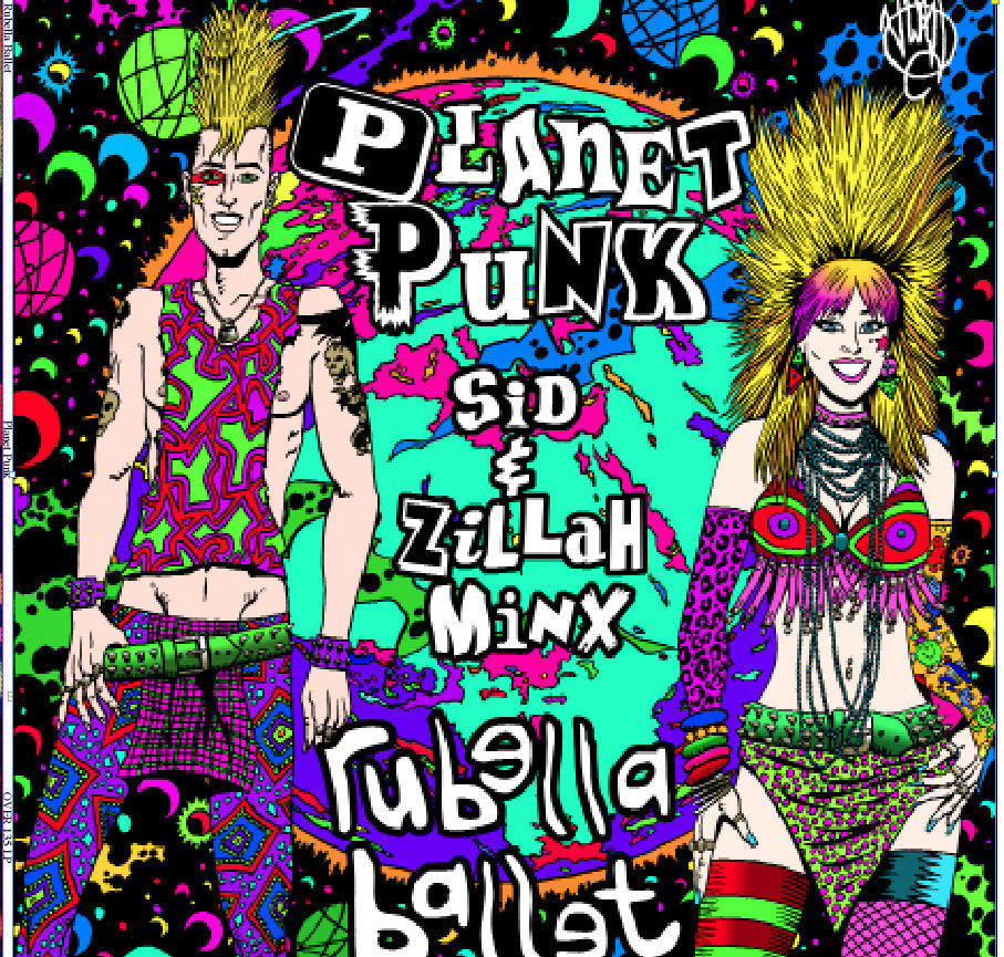 Rubella Ballet - Planet Punk - LP
