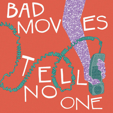 Bad Moves ‎– Tell No One [Translucent Purple Vinyl] –  New LP