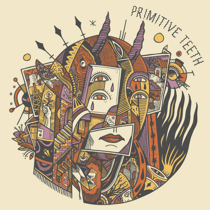 Primitive Teeth – S/T – New 7""