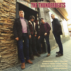 Thunderbeats – S/T [COLOR VINYL; Moscow Garage Punk 2020] – New 7""