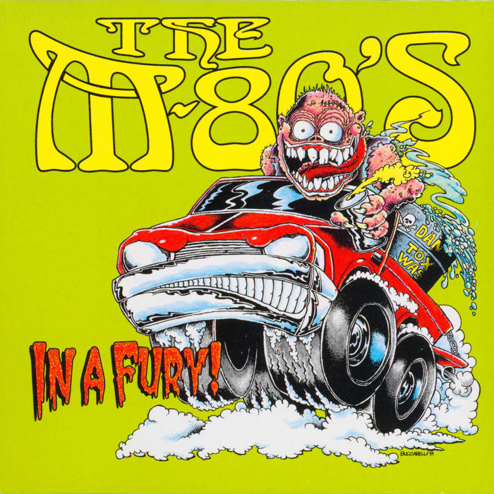 M-80's, The – In a Fury - New LP