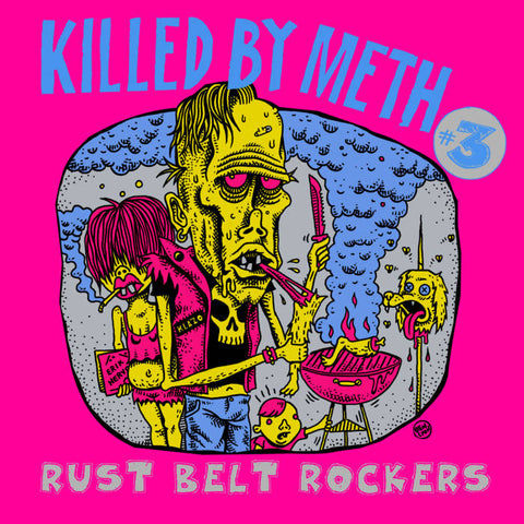 Various Artists - Killed By Meth #3 - New LP