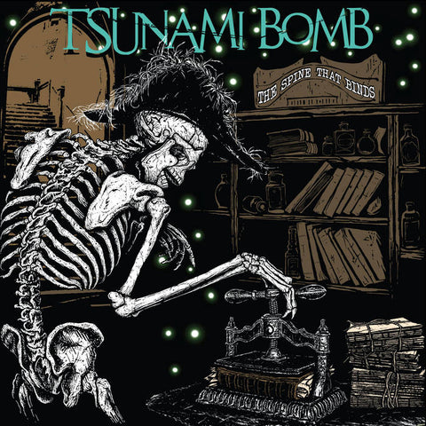 Tsunami Bomb – The Spine That Binds – New LP