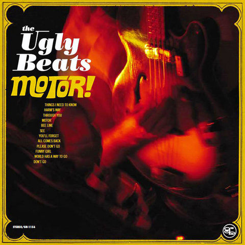 Ugly Beats, the – Motor – New LP