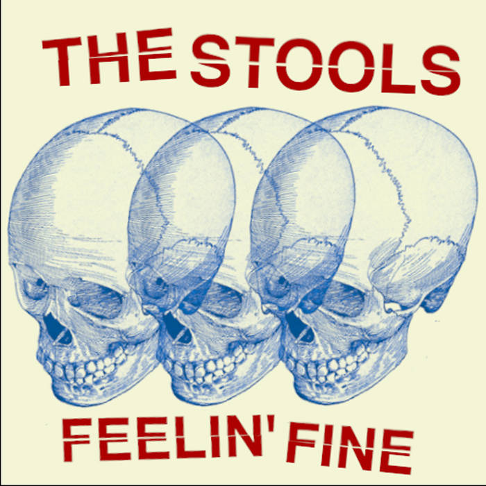 Stools, The- Feelin Fine [IMPORT; DETROIT PUNK] - New 7""