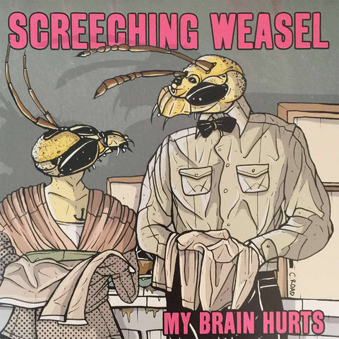 Screeching Weasel – My Brain Hurts – Used LP