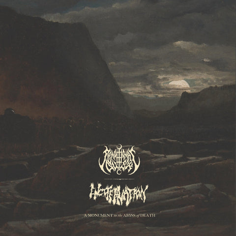 SEMPITERNAL DUSK / ENCOFFINATION - A Monument to the Abyss of Death - LP