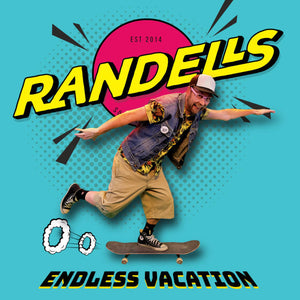 Randells – Endless Vacation [BUBBLEGUM-PINK VINYL; Swedish Bubblegum Punk 2020] – New 7""