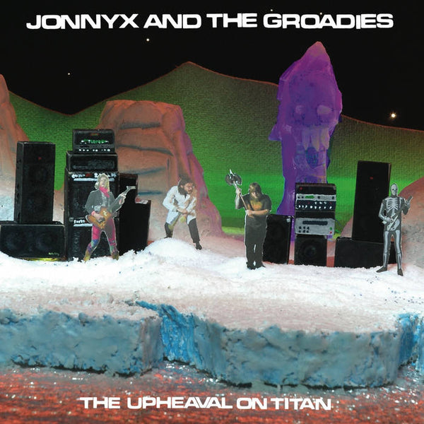 JonnyX and the Groadies - The Upheaval On Titan – New tape or New LP