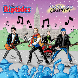Riptides  ‎– Canadian Graffiti – Used LP