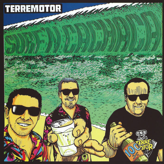 Terremotor – Surf'n Cachaca [COLOR VINYL; Instrumental Surf Rock; Brazil] – New 7""