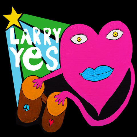 Larry Yes - Love Vibes For All Creatures Of The Universe LP