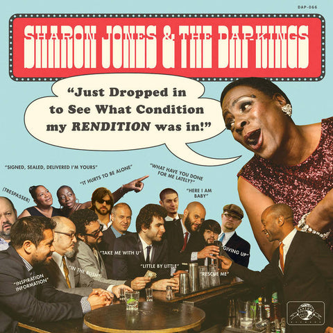 Sharon Jones & the Dap-Kings – Just Dropped in to See What Condition My RENDITION Was In! [BLUE/BLACK SPLATTER VINYL RSD] – New LP
