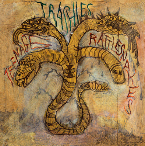 Trashies, The - Teenage Rattlesnakes LP