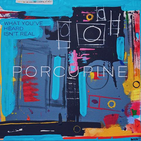 "Porcupine - What You've Heard Isn't Real 12"" EP [BLUE SWIRL VINYL] - New LP"