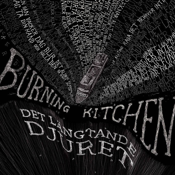 Burning Kitchen ‎– Det Längtande Djuret – New LP