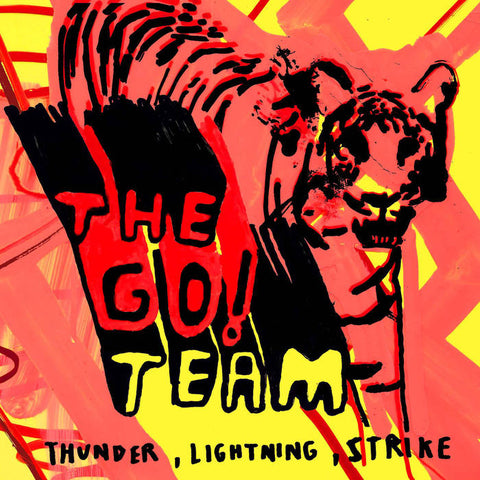 Go! Team, The – Thunder, Lightning, Strike – New LP