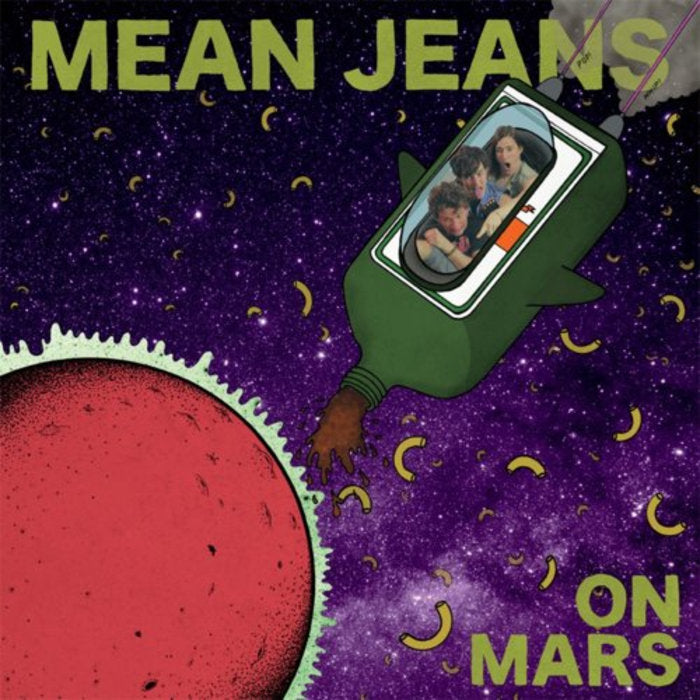 Mean Jeans - On Mars - New LP