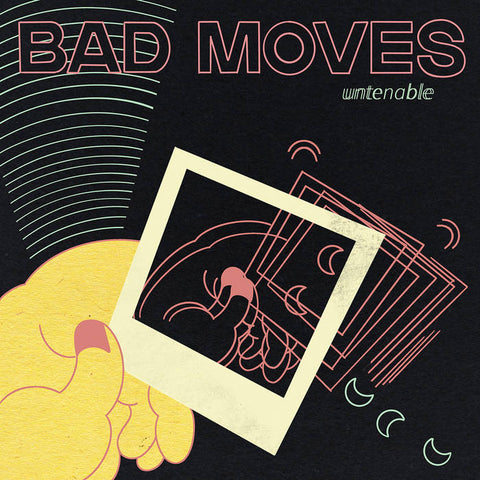 Bad Moves ‎– Untenable –  New LP