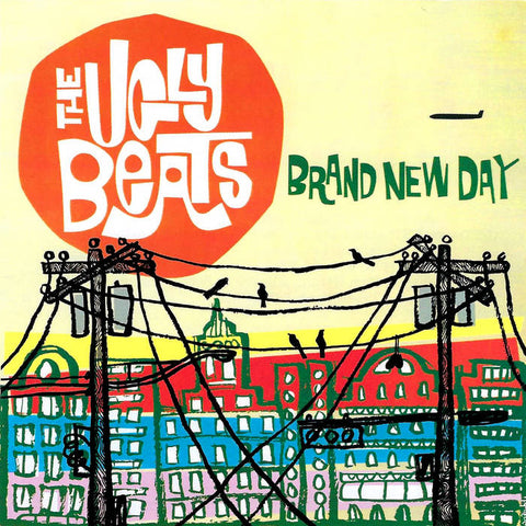Ugly Beats, the – Brand New Day [Salmon Vinyl]– New LP
