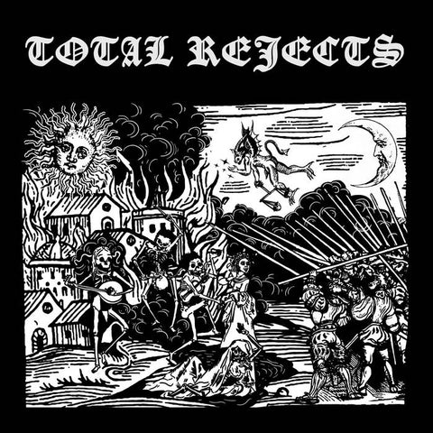 Total Rejects – S/T [MOSCOW PUNK ROCK! 2020] – New LP
