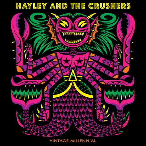 Hayley and the Crushers – Vintage Millennial [COLOR VINYL] – New LP
