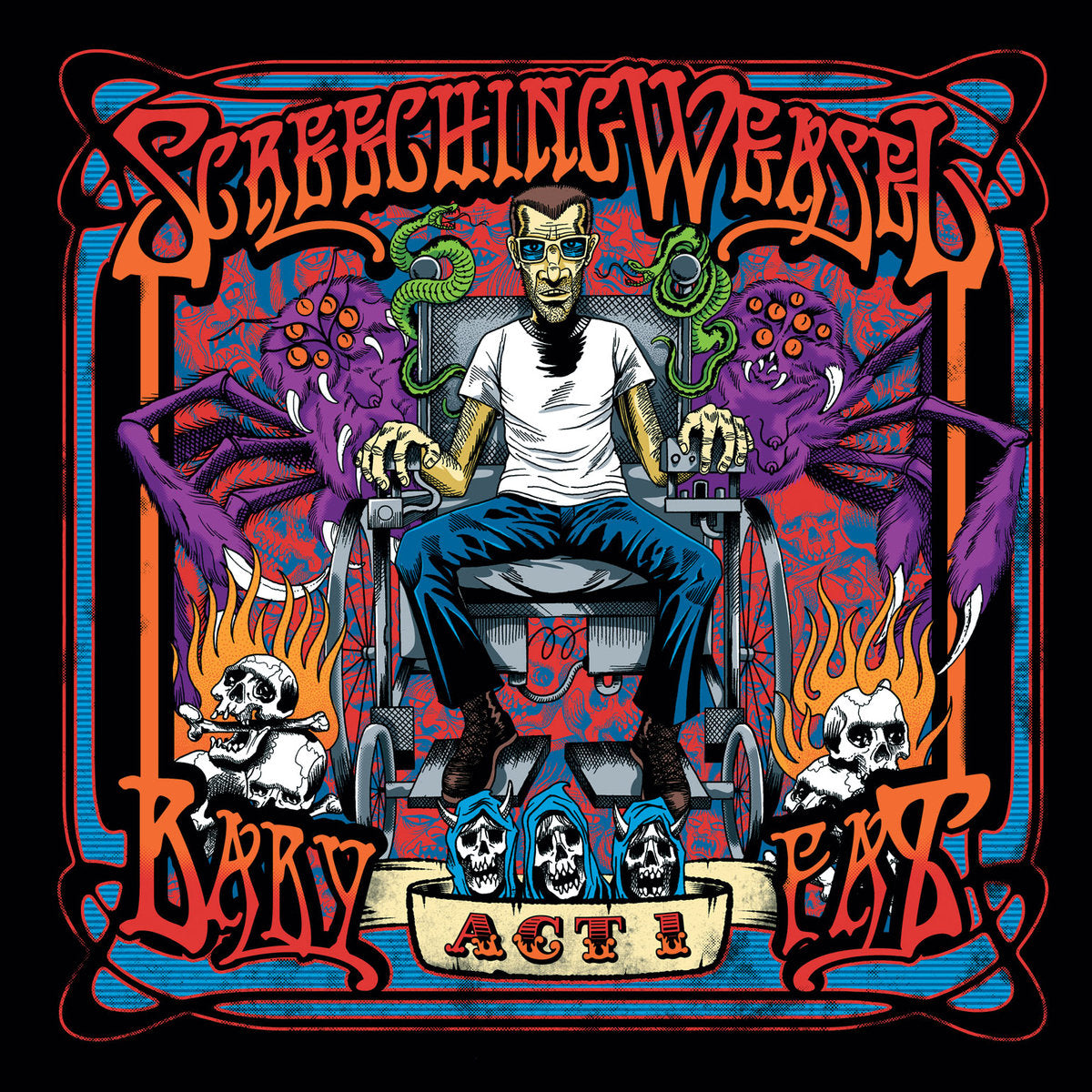 Screeching Weasel ‎– Baby Fat Act 1 - 2x LP - Used