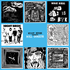 Night Birds - Roll Credits - LP